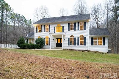 Pittsboro Single Family Home Pending: 24 Pine Ridge