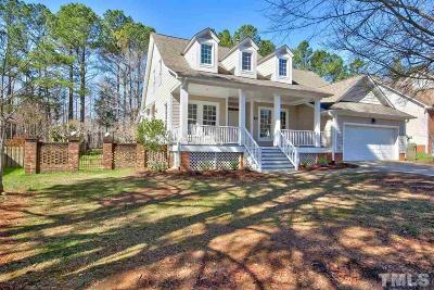 Chapel Hill Single Family Home Contingent: 124 Shadow Ridge Place