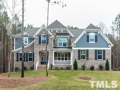 Pittsboro Single Family Home For Sale: 78 Foxglove