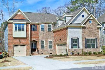 Apex Single Family Home For Sale: 2362 Terrmini Drive
