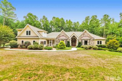 Hillsborough Single Family Home For Sale: 3550 Tree Farm Road