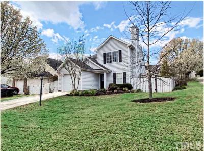 Apex Single Family Home Contingent: 213 Thorncrest Drive