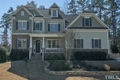 Cary Single Family Home Contingent: 7157 Talton Ridge Drive