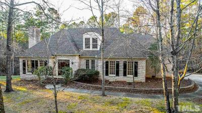 Chapel Hill Single Family Home For Sale: 327 Tanager Lane