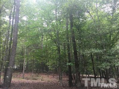 Chatham County Residential Lots & Land For Sale: 2194 Crawford Dairy Road