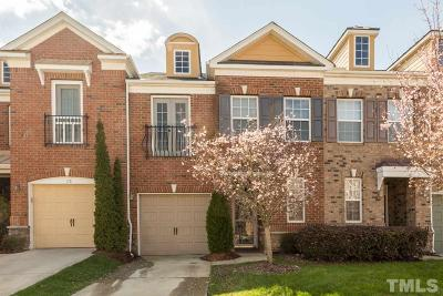 Cary Townhouse For Sale: 117 Longchamp Lane