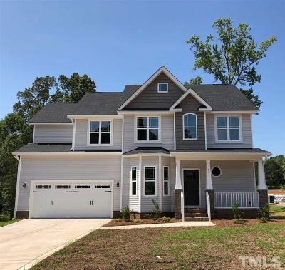 Garner Single Family Home For Sale: 73 Spring Meadow Drive