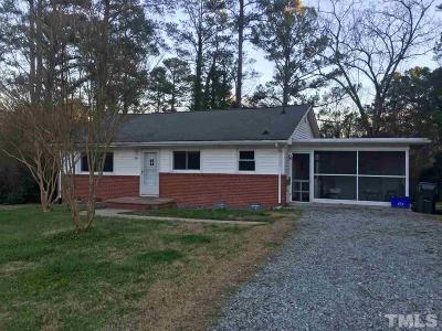 Chapel Hill Single Family Home Contingent: 204 Stancell Drive