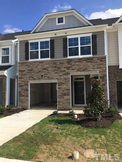 Apex Townhouse For Sale: 1181 Little Gem Lane #342