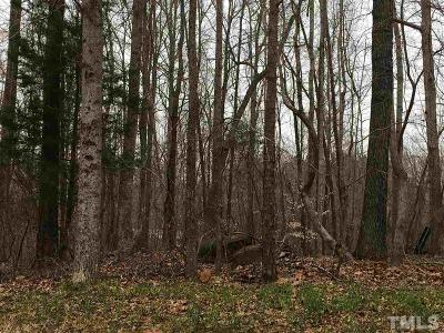 Granville County Residential Lots & Land For Sale: 1504 Lawrence Road