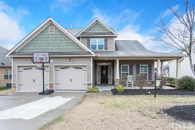Knightdale Single Family Home For Sale: 1004 Finley Point Place