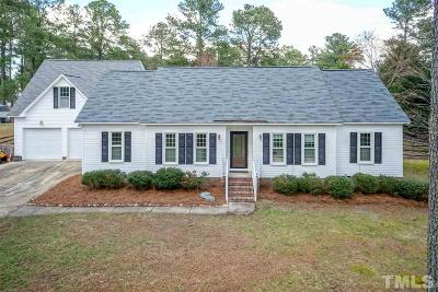 Wake Forest Single Family Home Contingent: 4528 Sandy Woods Drive