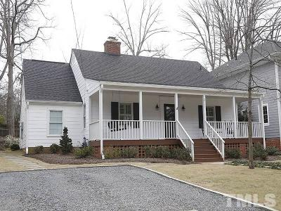 Wake County Single Family Home Contingent: 2715 Van Dyke Avenue