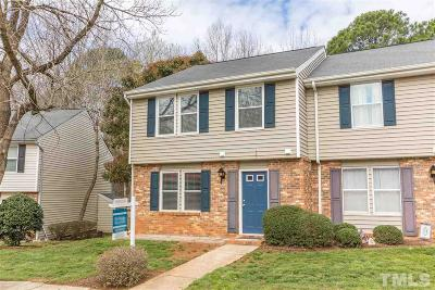 Cary Townhouse Contingent: 138 Luxon Place