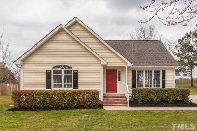 Wake Forest Single Family Home Contingent: 6317 Alfalfa Lane