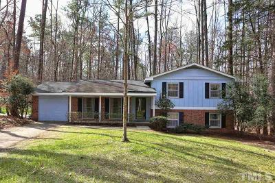 Chapel Hill Single Family Home Contingent: 607 Yorktown Drive