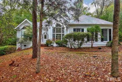Chapel Hill Single Family Home Contingent: 131 Nottingham Drive
