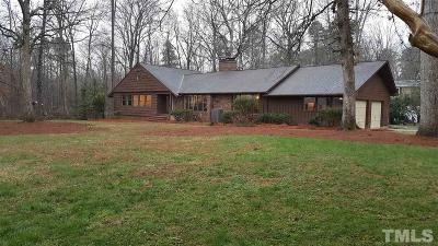 Chapel Hill Single Family Home Contingent: 408 Lakeshore Lane