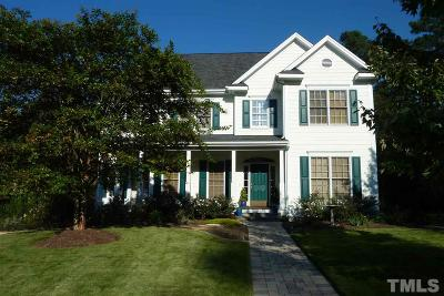 Chapel Hill Single Family Home For Sale: 107 Gardner Circle