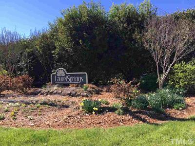 Chapel Hill Residential Lots & Land For Sale: 9105 Laurel Springs Drive
