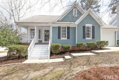 Cary Single Family Home Contingent: 101 Highfalls Court