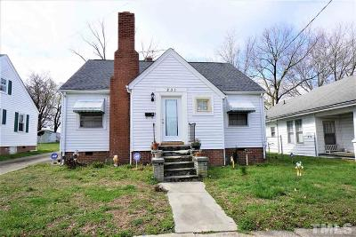 Single Family Home For Sale: 231 Gary Street