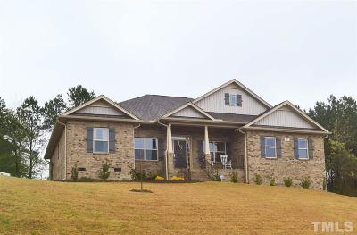 Angier Single Family Home For Sale: 21 Community Circle