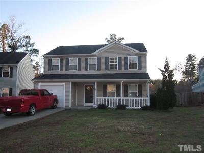Durham Single Family Home Contingent: 107 Knightwood Drive