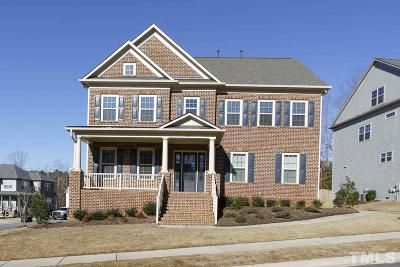 Apex Single Family Home For Sale: 4824 Sunset Fairways Drive