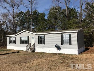 Sampson County Manufactured Home For Sale: 240 Hayes Mill Road