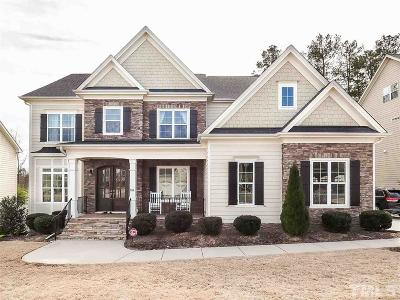 Cary Single Family Home Contingent: 104 Parkman Grant Drive