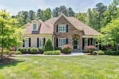 Raleigh Single Family Home For Sale: 3744 Westbury Lake Drive