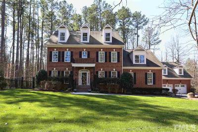 Pittsboro Single Family Home Contingent: 113 Grove Park Circle