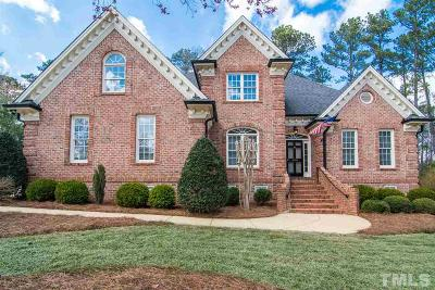 Holly Springs Single Family Home Contingent: 4808 Cornoustie Court