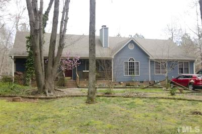 Youngsville Single Family Home Contingent: 125 Fox Run Road