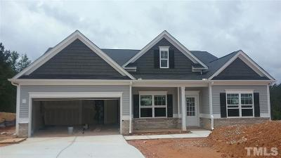 Knolls At The Neuse Single Family Home For Sale: 59 Deer Knoll Lane