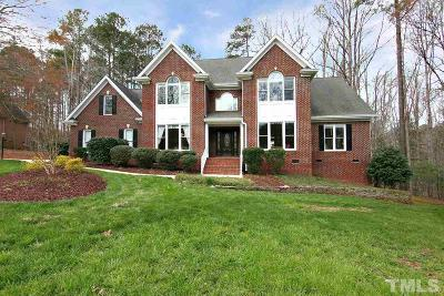 Raleigh Single Family Home Pending: 1409 Silverling Way