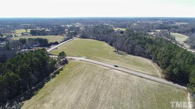 Wake County Residential Lots & Land Pending: 7881 Barefoot Road