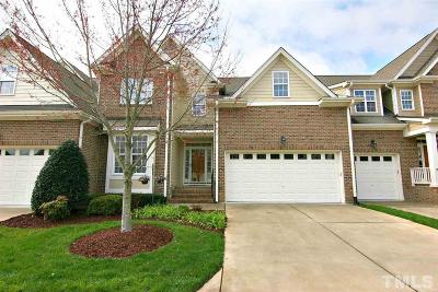 Wake Forest Townhouse For Sale: 624 Canvas Drive