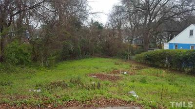 Wake County Residential Lots & Land For Sale: 1101 Spaulding Street