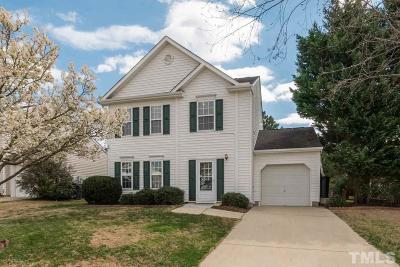 Morrisville Single Family Home Contingent: 317 Downing Glen Drive