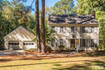 Apex Single Family Home For Sale: 2912 Meadowview Court