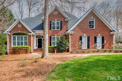 Holly Springs Single Family Home Contingent: 4828 Sunset Forest Circle