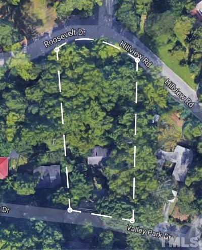 Chapel Hill Residential Lots & Land For Sale: 1113 Valley Park Drive