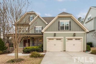 Wake Forest Single Family Home Contingent: 1013 Shasta Daisy Drive