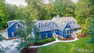 Apex Single Family Home Contingent: 144 Talicud Trail