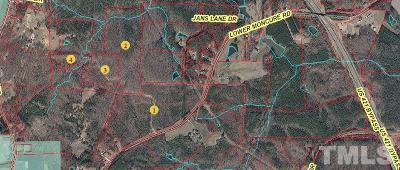 Lee County Residential Lots & Land For Sale: Lower Moncure Road