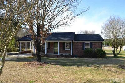 Clayton NC Single Family Home For Sale: $164,900