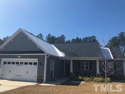 Harnett County Single Family Home Contingent: 71 Pitch Pine Court