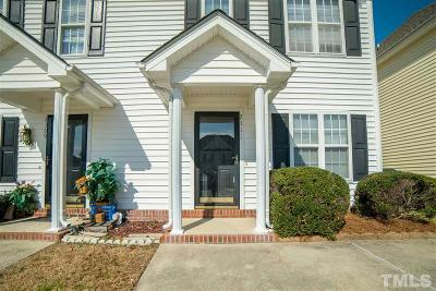 Raleigh Townhouse For Sale: 2311 Turtle Point
